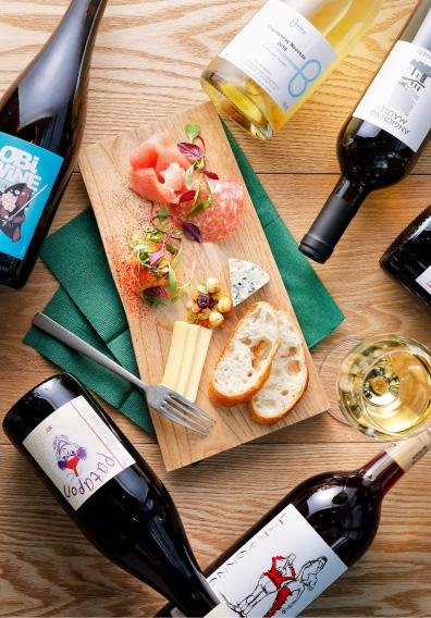 ワイン集合画像